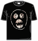 Mighty Boosh Boosh Face Short Sleeve T-Shirt