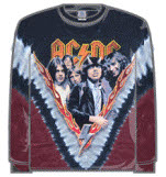 Acdc Highway Long Sleeve T-Shirt