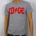 1981 Straight Edge Clothing Bolt Heather Gray T-Shirt