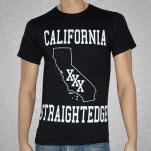 1981 Straight Edge Clothing California SXE Black T-Shirt