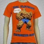 1981 Straight Edge Clothing Clobber Orange T-Shirt