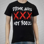 1981 Straight Edge Clothing Drink Juice Black T-Shirt