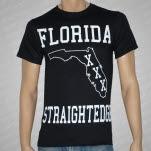 1981 Straight Edge Clothing Florida SXE Black T-Shirt