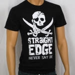 1981 Straight Edge Clothing Goonies Black T-Shirt