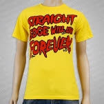 1981 Straight Edge Clothing Live Forever Yellow T-Shirt