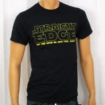 1981 Straight Edge Clothing May The Edge Black T-Shirt