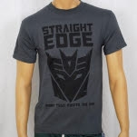 1981 Straight Edge Clothing More Than Meets The Eye 2 Gray T-Shirt