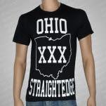 1981 Straight Edge Clothing Ohio SXE Black T-Shirt