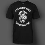 1981 Straight Edge Clothing Reaper Black T-Shirt
