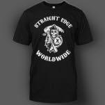 1981 Straight Edge Clothing Reaper Black T-Shirt