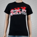 1981 Straight Edge Clothing Revolution Black T-Shirt