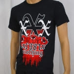 1981 Straight Edge Clothing Roses Black T-Shirt
