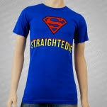 1981 Straight Edge Clothing Super Edge Royal Blue T-Shirt