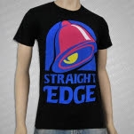 1981 Straight Edge Clothing Taco Bell Black T-Shirt