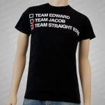1981 Straight Edge Clothing Team Edge Black T-Shirt