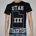 1981 Straight Edge Clothing Utah SXE Black T-Shirt