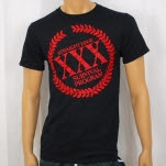1981 Straight Edge Clothing Wreath Black T-Shirt