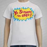 1981 Straight Edge Clothing Yo Straight Edge White T-Shirt