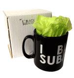 official Black Submarine Logo Mug