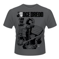 2000Ad Judge Dredd I Am The Law 3 T-Shirt