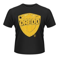2000Ad Judge Dredd Badge T-Shirt