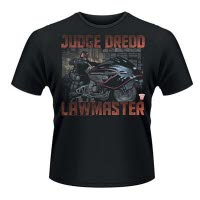2000Ad Judge Dredd Lawmaster T-Shirt