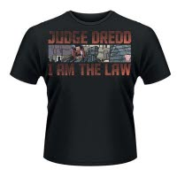 2000Ad Judge Dredd Gun T-Shirt