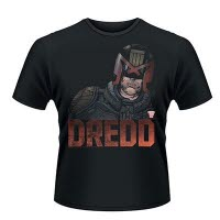 2000Ad Judge Dredd Dredd Head T-Shirt