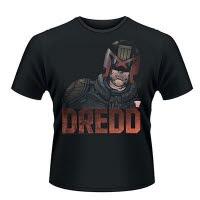 2000Ad Judge Dredd Dredd Head T-Shirt
