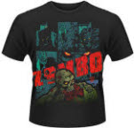 official 2000Ad Zombo Zombo Meat T-Shirt