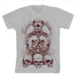 36 Crazyfists Totem White T-Shirt