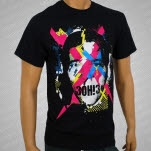 3OH3 Face Black T-Shirt