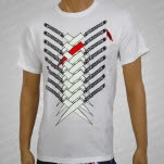 3OH3 Knives White T-Shirt