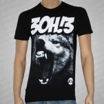 3OH3 Wolf Bite Black T-Shirt