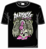Parkway Drive Vulture And Skull Short Sleeve T-Shirt