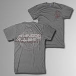 Abandon All Ships Hand Symbol Heather Grey T-Shirt