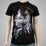 A Bullet For Pretty Boy Birds Black T-Shirt