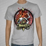 A Bullet For Pretty Boy GRRR Heather Gray T-Shirt