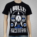 A Bullet For Pretty Boy Symbiosis Black T-Shirt