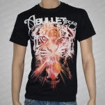 A Bullet For Pretty Boy Tiger Black T-Shirt