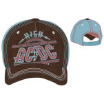 Acdc Brown Blue Cap