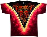 Acdc Evil Wings Vdye T-Shirt