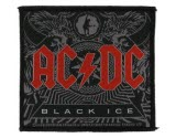 Acdc Black Ice Woven Patch