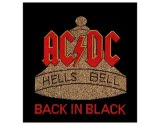 Acdc Hells Bells Woven Patch