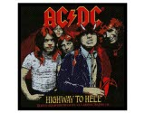 Acdc Highway To Hell Woven Patch