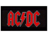Acdc Logo Woven Patch