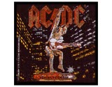 Acdc Stiff Upper Lip Woven Patch