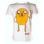 Adventure Time Jake Waving White T-Shirt