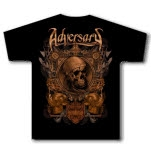 Adversary Viking Skull Black T-Shirt