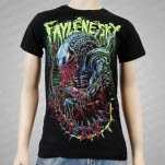 A Faylene Sky Alien Black T-Shirt